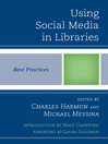 Using Social Media in Libraries